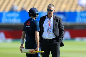 ECB director of cricket Ashley Giles (right) has briefed players (Mike Egerton/PA)