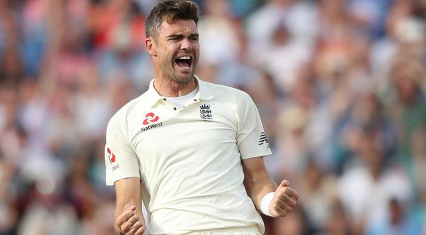 England's James Anderson marked his 150th Test match with a wicket from the opening ball of the first Test against South Africa in Centurion.