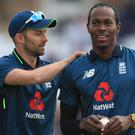 Mark Wood and Jofra Archer could line up together for the first time in Test cricket in Johannesburg (Mike Egerton/PA)