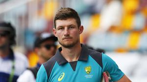 Australia's Cameron Bancroft has spoken about the events in Cape Town in March this year (PA)