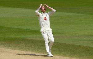 Ben Stokes was standing in for Joe Root as captain (Mike Hewitt/NMC Pool)