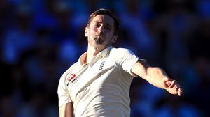 Chris Woakes was arguably the pick of the bowlers (Mike Egerton/PA)