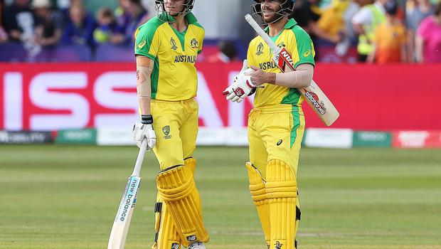 England will face Steve Smith (left) and David Warner when they take on Australia (Mark Kerton/PA).