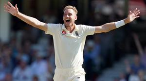 Stuart Broad could yet take to the field in the first Test at Galle next week (John Walton/PA)