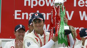 Michael Vaughan became England's most successful Test captain (Gareth Copley/PA)