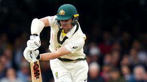Australia's Travis Head bats during day three of the Ashes Test match at Lord's, London (John Walton/PA)