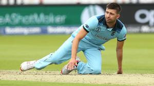 Mark Wood helped England win the Cricket World Cup, but then missed the Ashes series through injury (Tim Goode/PA)