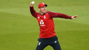 Eoin Morgan hopes England can spin their way to more success (Mike Hewitt/PA)