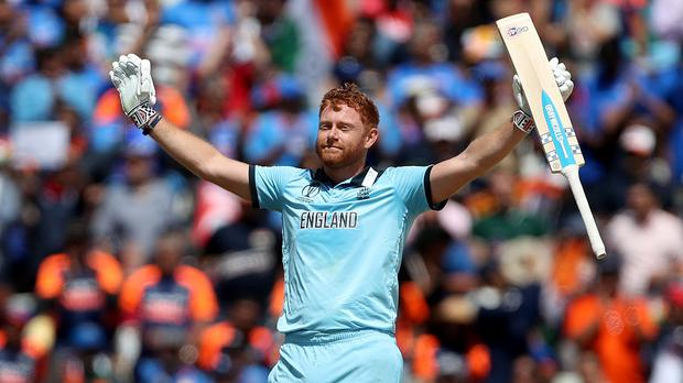 Jonny Bairstow did his talking on the pitch against India (David Davies/PA)
