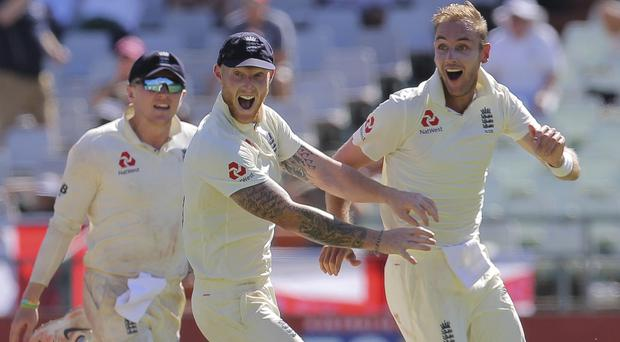 Ben Stokes was inspired to his heroics by his father Ged (Halden Krog/AP)