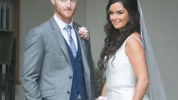 Ben Stokes paid tribute to his wife Clare (Steve Parson/PA).
