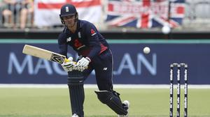 Jason Roy could miss England's next game because of a back spasm