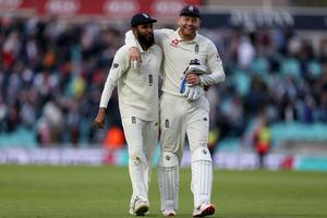 Adil Rashid, left, has not featured in red-ball cricket of any kind since January last year (Steven Paston/PA)