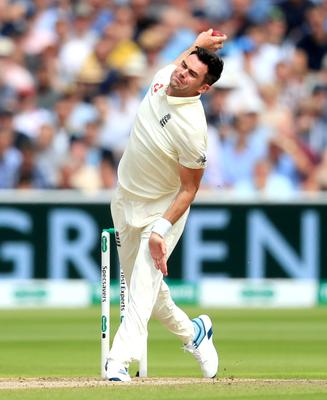 The swinging ball is a key component of the arsenal of England's James Anderson (Mike Egerton/PA)