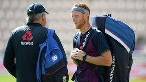 Ben Stokes will captain the England Test team for the first time against the West Indies (Stu Forster/Pool/PA)