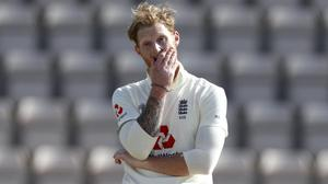Ben Stokes could not guide England to victory in his first match as captain (Adrian Dennis/NMC Pool)
