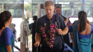 England had arrived in Sri Lanka for a two-Test series which has since been abandoned (Eranga Jayawardena/AP)