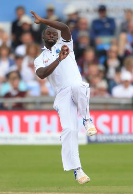 Kemar Roach in action (PA)