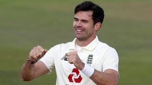 James Anderson has 598 Test wickets (Alastair Grant/PA)