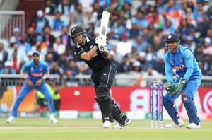 Ross Taylor top-scored for New Zealand in their semi-final win over India (David Davies/PA)