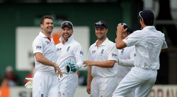 James Anderson was fast closing in on 300 Test wickets (Anthony Devlin/PA)