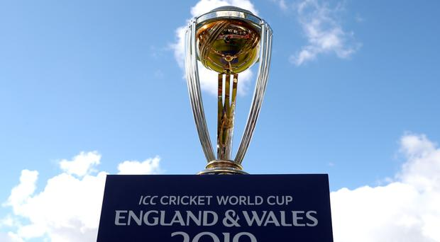 The ICC Cricket World Cup trophy (Simon Cooper/PA)