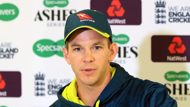 Tim Paine insists Australia did not panic at Headingley (Simon Cooper/PA)