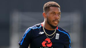 Chris Jordan made his first ODI appearance in more than three-and-a-half years (Mike Egerton/PA)