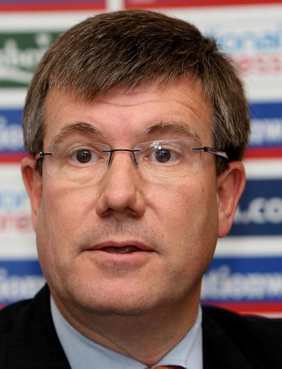 Former Football Association chief executive Ian Watmore will take over as ECB chairman in August (PA).