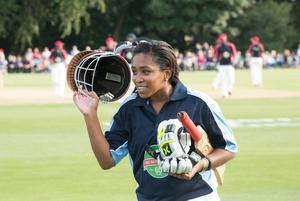 Ebony Rainford-Brent became the first black woman to play for England in 2001 (PA Media)