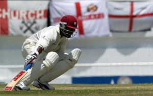 Brian Lara made 400 in the fourth Test in 2004 (Rebecca Naden/PA)