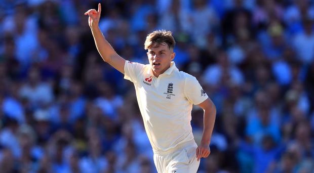 Sam Curran shone during England's warm-up match in South Africa (Mike Egerton/PA)