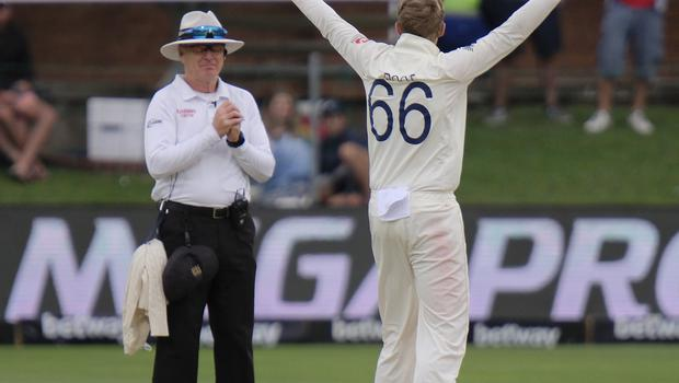 Joe Root took four wickets against South Africa in the third Test (Michael Sheehan/AP)