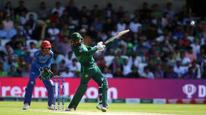 Mohammad Hafeez is among the Pakistan players to test positive for coronavirus (Nigel French/PA)