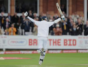 Stuart Broad registered his only Test century against Pakistan in 2010 (Anthony Devlin/PA)