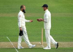 Moeen Ali (left) is back in contention for a Test place (Stu Forster/Pool/PA)