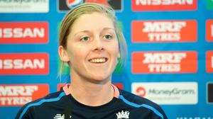England Women's captain Heather Knight is among the 24 players set to return to training on Monday (Ben Birchall/PA)
