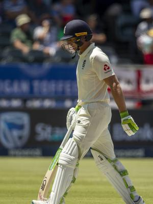 Jos Buttler has struggled with the bat in South Africa (Themba Hadebe/AP).
