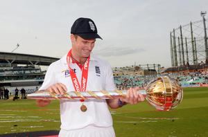 Michael Vaughan holds the record for England Test wins as captain (Anthony Devlin/PA)