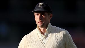 Chris Woakes claimed England's first wicket on their tour of Sri Lanka (Mike Egerton/PA).