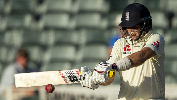 Joe Root hailed England's all-round team contribution at The Wanderers (Themba Hadebe/AP)