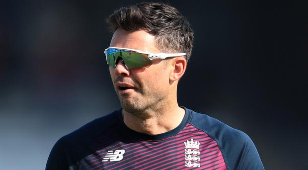 James Anderson will make his 150th Test appearance when England take on South Africa (Mike Egerton/PA)