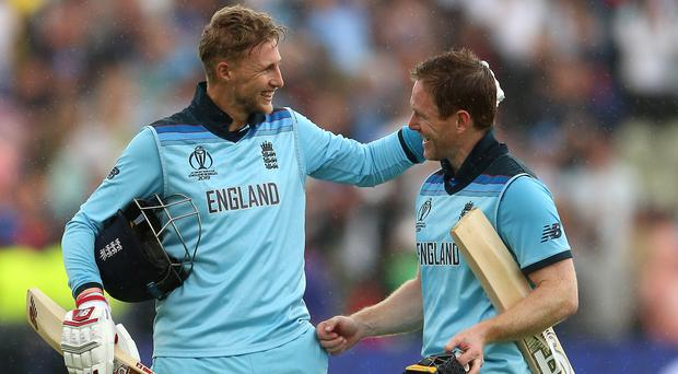 England reached the World Cup final by beating Australia (Nigel French/PA)