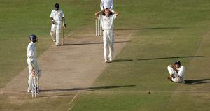 Stuart Broad made his debut in the second Test at Colombo in 2007, where he took his first Test wicket and finished with figures of one for 95 (Gareth Copley/PA)
