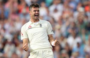 James Anderson is England's all-time leading Test wicket-taker (Adam Davy/PA)