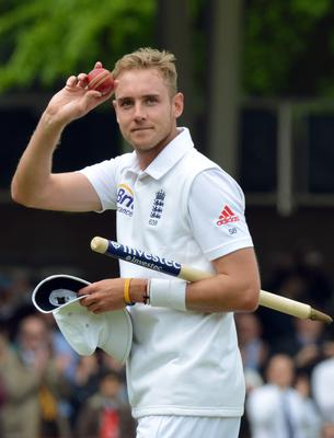 Against New Zealand at Lord's in 2013, Broad took seven for 44 (Anthony Devlin/PA)