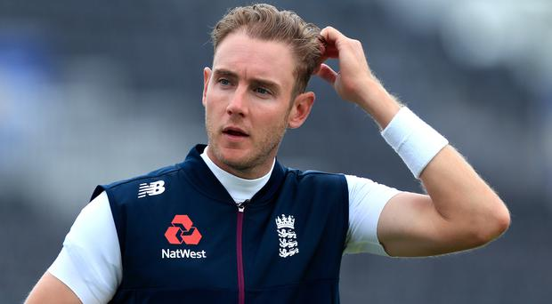 Stuart Broad was among the England players sitting out due to illness (Simon Cooper/PA)