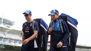 Joe Root, right, has backed Alastair Cook to regain his form against Pakistan