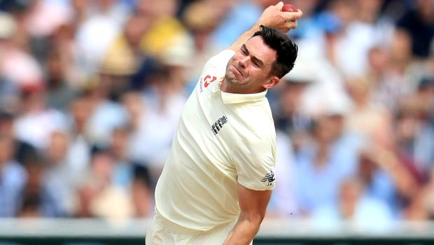 James Anderson is battling his way back from a calf injury (Mike Egerton/PA)
