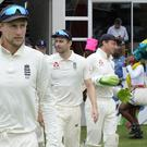 Joe Root will be hoping England can secure a 3-1 series win over South Africa on day four (Michael Sheehan/AP)